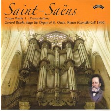 The Complete Organ Works of Saint-Saens - (4 CD set)