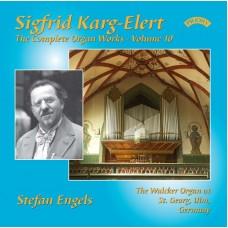 Sigfrid Karg-Elert (1877-1933) The Complete Organ Works-Volume 10- The Walcker Organ at St Georg, Ulm, Germany.