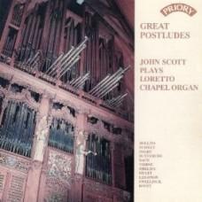 Great Postludes! / Organ of Loretto Chapel, Scotland