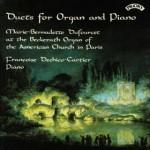Duets for Organ and Piano / American Church, Paris