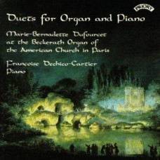 Duets for Organ and Piano / American Church, Paris