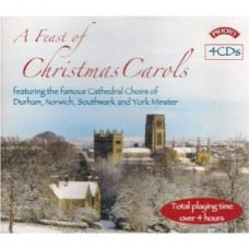 A Feast of Christmas Carols (4 CD set) - Cathedral Choirs of York, Durham, Norwich and Southwark