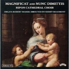 Magnificat & Nunc Dimittis Vol 12