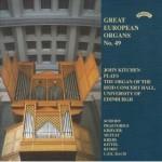 Great European Organs No.49: Reid Concert Hall, Univ.of Edinburgh