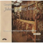 Complete Organ Works of Johann Krebs - Vol 4 - The Reid Concert Hall, University of Edinburgh