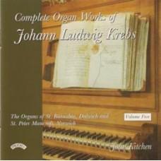 Complete Organ Works of Johann Krebs- Vol 5 - The Organ of St.Barnabas, Dulwich, London