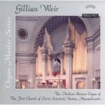 Organ Master Series - Vol. 1 - The Aeolian Skinner Organ of The First Church of Christ Scientist, Boston, Massachusetts