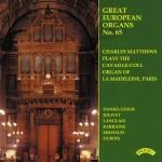 Great European Organs No.65: La Madeleine, Paris
