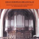 Great European Organs No.62: The Sauer/ St Thomaskirche, Leipzig