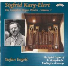 Complete Organ Works of Sigfrid Karg-Elert - Vol 1 - The Organ of St Georgskirche, Riedlingen, Germany