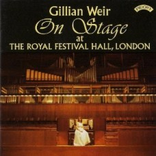 Gillian Weir On Stage at The Royal Festival Hall