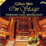 Gillian Weir On Stage at Symphony Hall, Birmingham