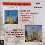 LP Archive Series - 1 -  Organ Music from Westminster Cathedral and St.George's Chapel Windsor(2 CD set)