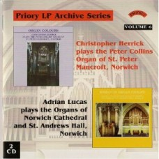 LP Archive Series - 6 - (2 CDs) - The Organ of St.Peter Mancroft, St.Andrew's Hall, Norwich and Norwich Cathedral