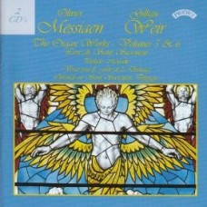 Messiaen - The Complete Organ Works - Vols 5 & 6 -  Organ of Arhus Cathedral, Denmark (2 CD set)