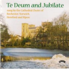 Te Deum and Jubilate (4 CD set)