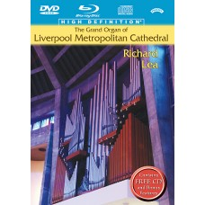 The Grand Organ of Liverpool Metropolitan Cathedral - Multi Format BluRay / DVD / CD Box Set