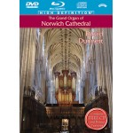 Four DVD/BluRay - Special Offer Set -Grand Organs of Norwich, Chester, Salisbury and Liverpool Met Cathedral's